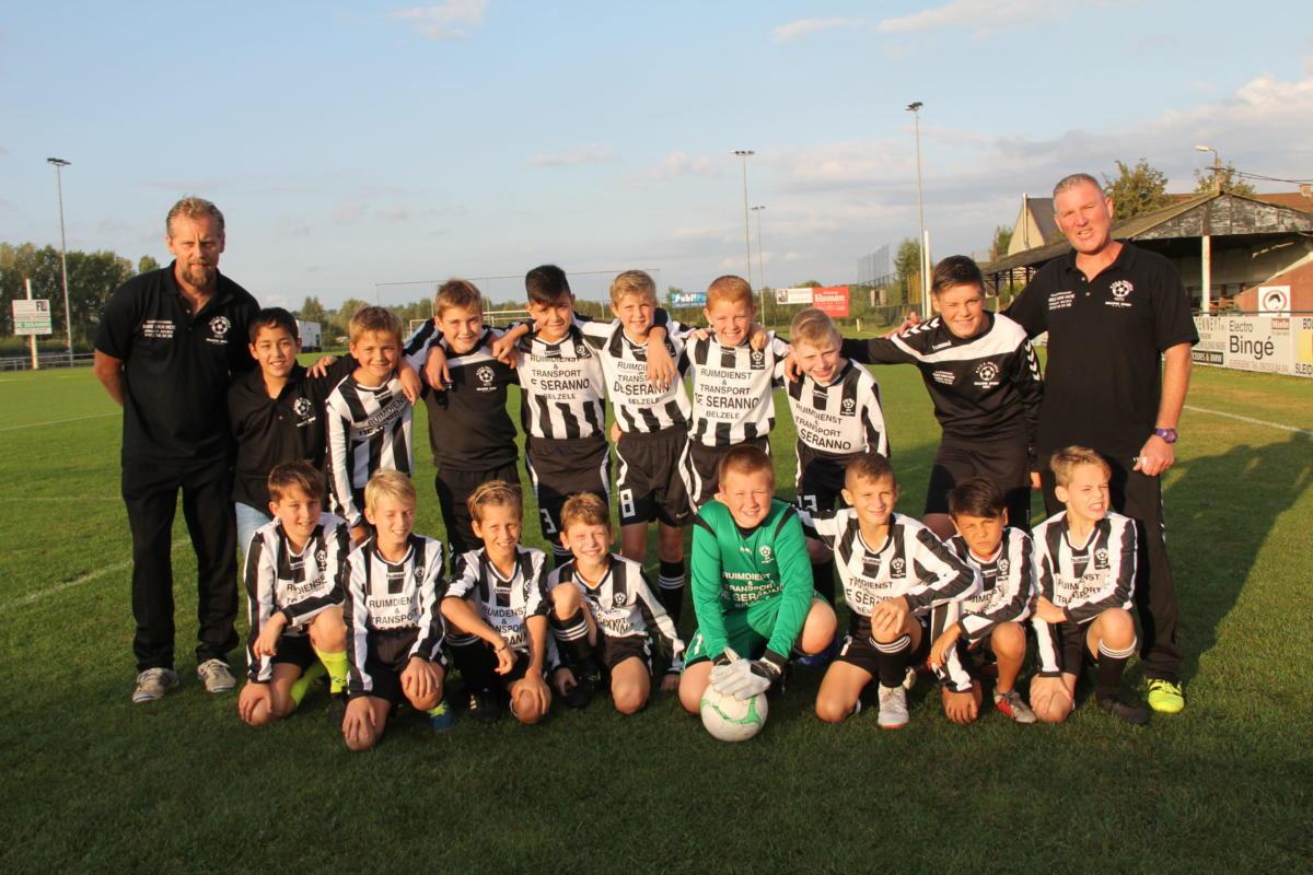 U12-ploegfoto